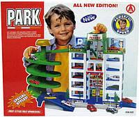 Детский гараж парковка для машинок