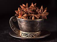 Бадьян, Анис звездчатый плоды-звездочки цельные для декора, 10 шт., фото 1