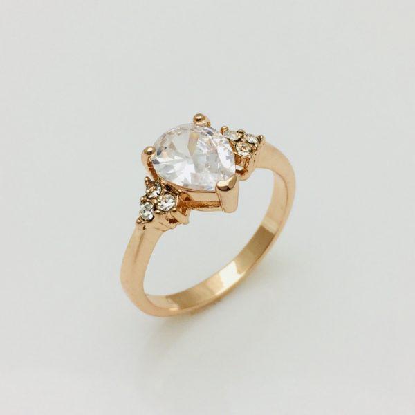 Кольцо Жасмин, размер 16, 17, 18, 19 ювелирная бижутерия