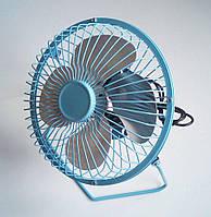 Настольный Usb вентилятор (металлический корпус, диаметр 180мм)
