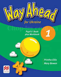 Way Ahead for Ukraine 1 Pupil's Book plus Workbook / Учебник с тетрадью