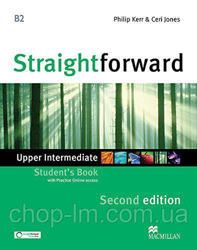 Straightforward Second Edition Upper Intermediate Student's Book (учебник 2-е изд.)