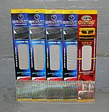 Декоративно-защитная сетка радиатора Ford Focus бампер, фото 4