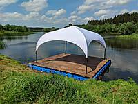 Шатер-палатка Парк (Park) 4х4 без стен и штор, (каркас-алюминий)