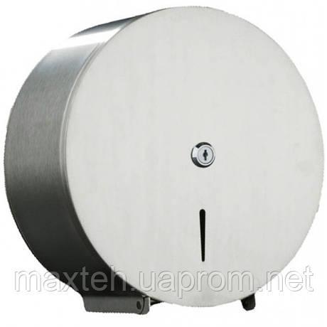 Копия Держатель Inox для туалетной бумаги джамбо сатиновый