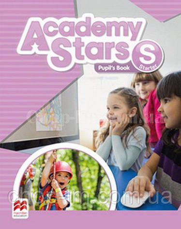 Academy Stars Starter Pupil's Book with Alphabet Book / Учебник, фото 2