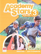 Academy Stars 3 Pupil's Book (Edition for Ukraine) / Учебник