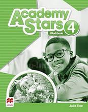 Academy Stars 4 Workbook (Edition for Ukraine) / Рабочая тетрадь
