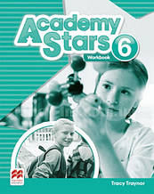 Academy Stars 6 Workbook (Edition for Ukraine) / Рабочая тетрадь