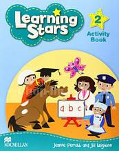 Learning Stars 2 Activity Book / Рабочая тетрадь