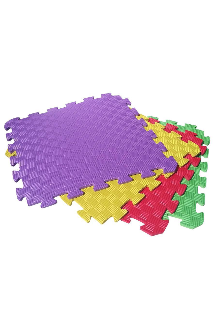 Татами (коврик-пазл) 0,5 м х 0,5 м, 10 мм