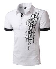 Белая футболка с графическим принтом M  код 54
