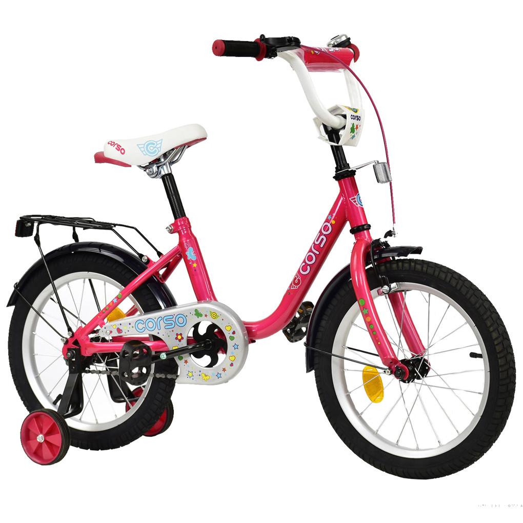 Велосипед CORSO Розовый С-16540