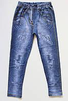Лосины на девочку с имитацией джинсов, фото 1