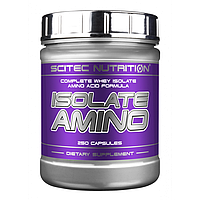 Isolate Amino 250 капс Scitec Nutrition аминокислоты