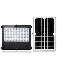 Прожектор на солнечной батареи 30 вт с датчиком освещености