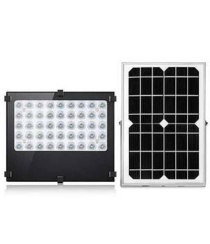 Прожектор на солнечной батареи 30 вт с датчиком освещености , фото 2