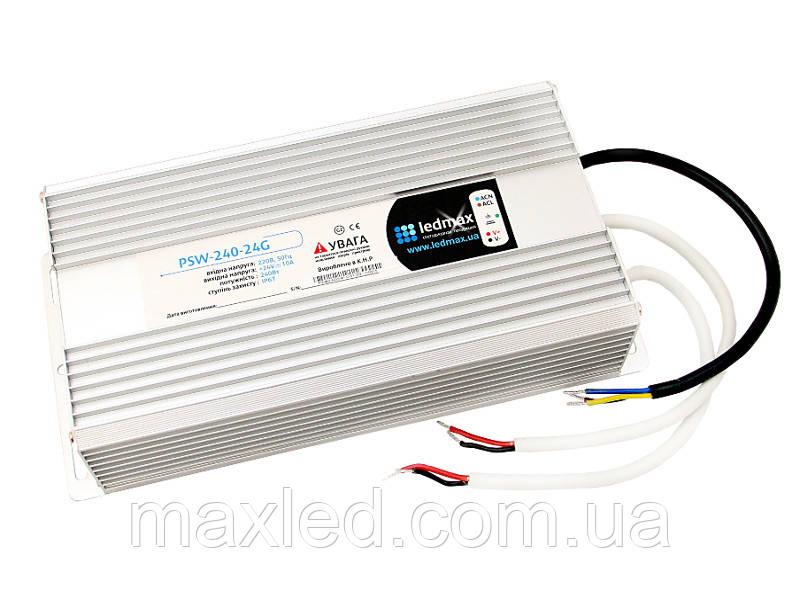 БЖ 24В 240Вт LEDMAX PSW-240-24G