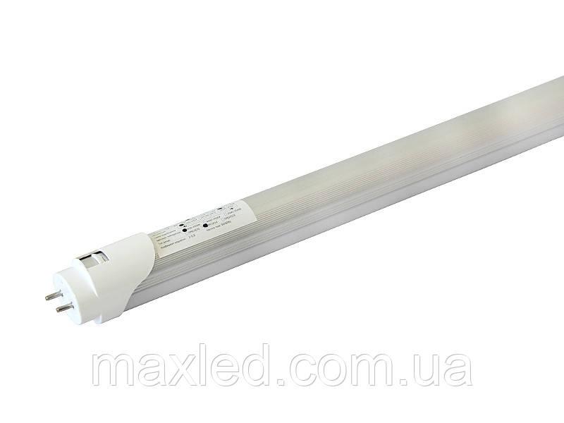 Лампа світлодіодна 18Вт CW матова T8M-2835-1.2 A 18CW 6500K
