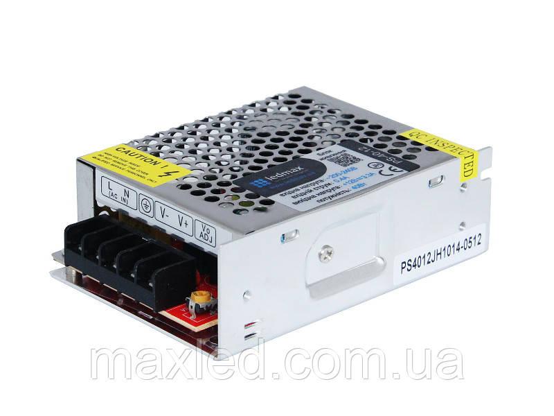 БП 12В  40Вт LEDMAX PS-40-12