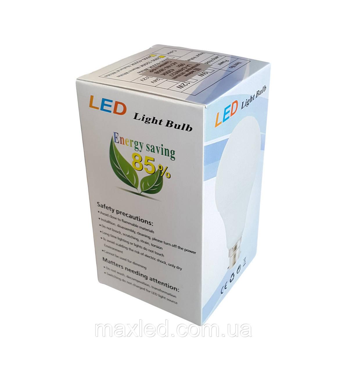 Светодиодная лампа  9Вт EA9WE27 E27