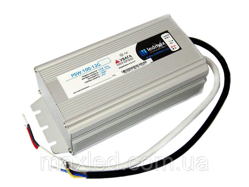 БП 12В 100Вт LEDMAX PSW-100-12