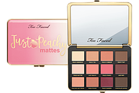 Палетка теней Too Faced Just Peachy Mattes, фото 1