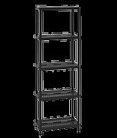 Универсальный стеллаж (Universal Vent 73-5), черный, TOOMAX