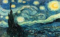 Алмазная мозаика Звездная ночь, Ван Гог, 50*40 см ( картина стразами )