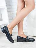 Туфли лоферы Цепи кожа 6399-28, фото 3