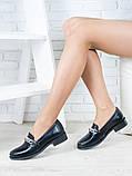 Туфли лоферы Цепи кожа 6399-28, фото 4