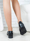 Туфли лоферы Цепи кожа 6399-28, фото 5