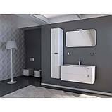 Пенал подвесной для ванной комнаты Botticelli Velluto VltP-170 белый, 330х350х1700 мм , фото 4