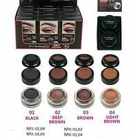 0459 Mac 4 в 1 black brown fascinated eyebrow eyeliner.(№1,2,4,6)