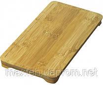 Бамбуковый водонепроницаемый поднос 279 х 140 мм.
