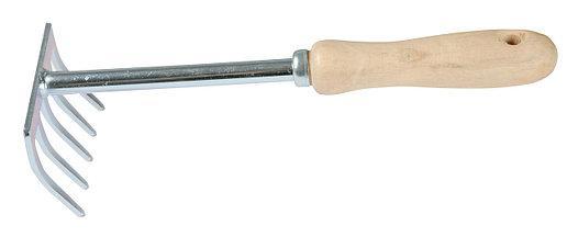 Грабельки з дерев'яною ручкою Greenmill