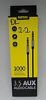 Кабель AUX Remax RL-L099 jack3.5 / jack3.5 1,0m white