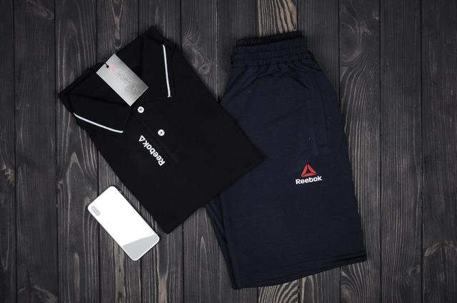 футболка поло и шорты