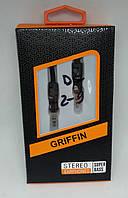 Кабель, провід Aux in 3.5m / m 1m Griffin black