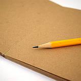 Крафт папір (СЦБК) А4 70 г/м2 (500 листів в упаковці), фото 3