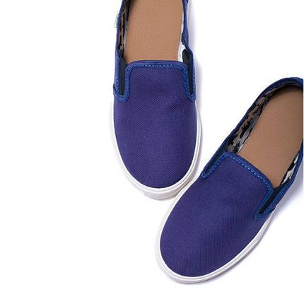 Слипоны детские OLDCOM MILAN синие, фото 2
