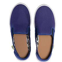 Слипоны детские OLDCOM MILAN синие, фото 3