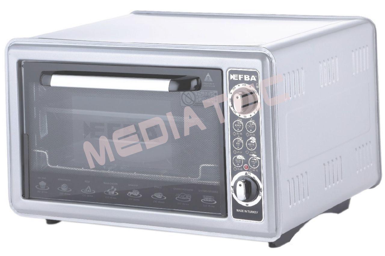 Электродуховка Efba - 36 л, 1500 Вт, белая [1002]
