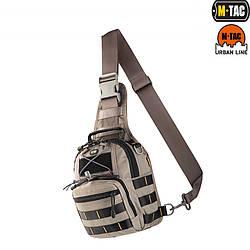 Однолямочна сумка-рюкзак FASTEX GREY
