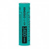 Аккумулятор Videx Li-Ion 18650 3400mAh (без защиты)