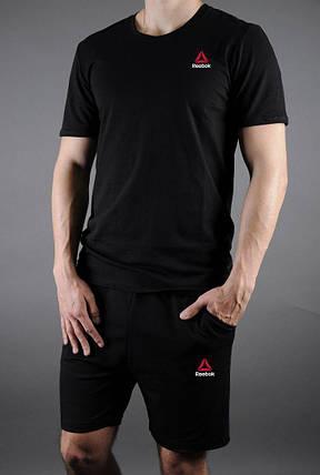Комплект футболка мужская и шорты Reebok, фото 2