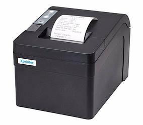 Принтер чеков с автообрезкой XP-T58KC 58мм (USB, LAN)