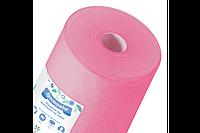 Одноразовые простыни 0.6*100 метров  ТМ Panni Mlada Розовые