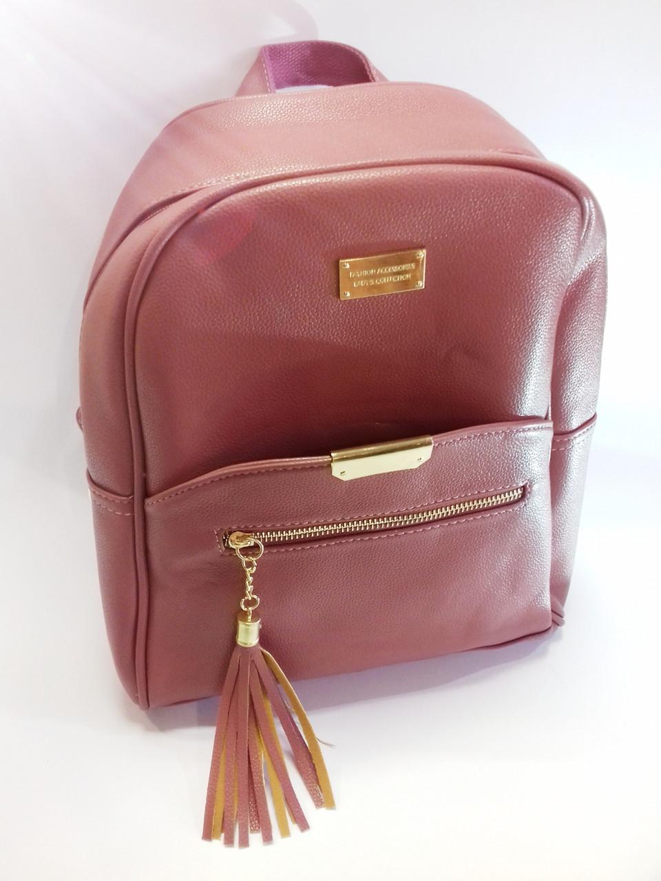 Рюкзак женский из эко кожи