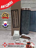 Акция!7м2(1,54кВт) Инфракрасный Теплый пол HotFilm Корея+Терморегулятор Термопленка под линолеум